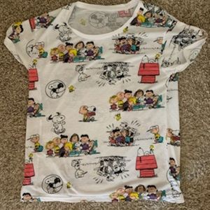 Peanuts Snoopy, Woodstock, the Crew Tee